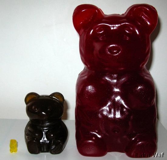Gummy bear géant