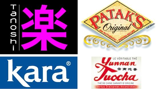 4 pays 4 gammes de saveurs
