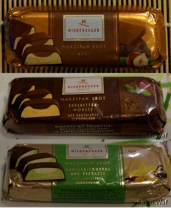 Versions noisette praliné, mousse au chocolat et vanille pistache