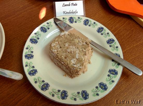Kindakæfa, pâté de mouton