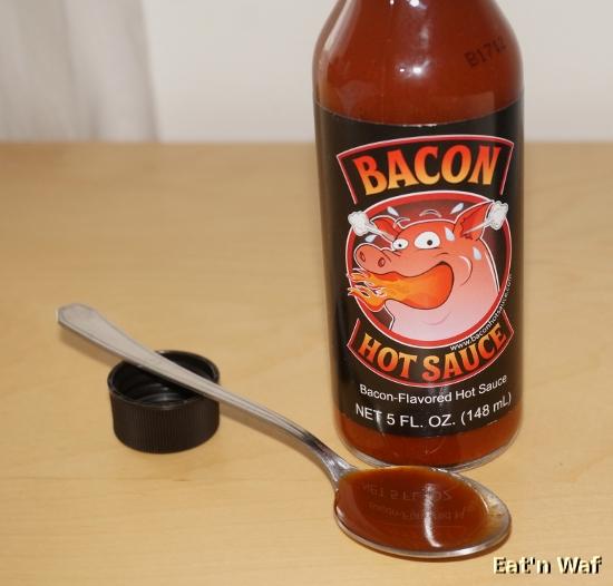 Bacon, piment, que demander de plus ? Peut être des pistaches