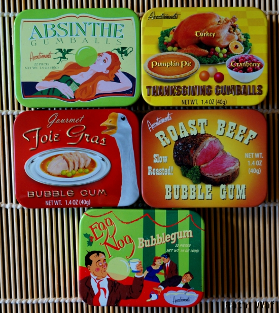 Des chewing-gums vraiment différents, peut-être trop