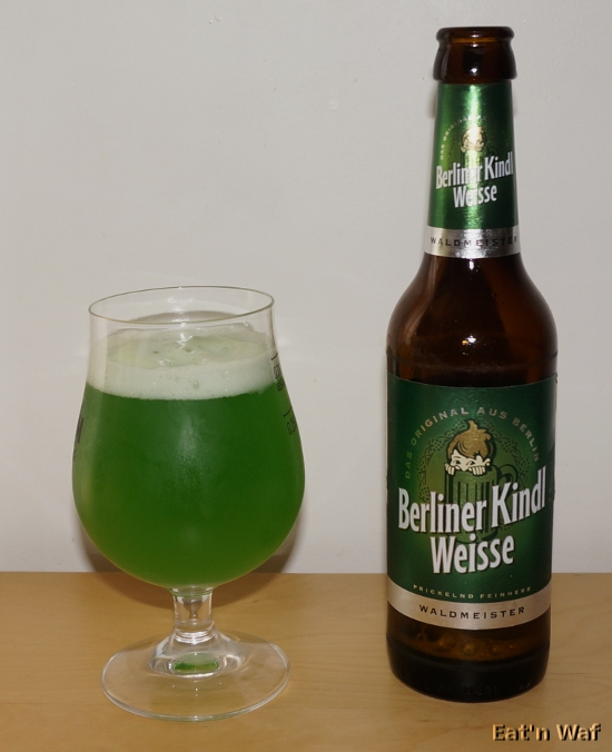 La bonne couleur mais pas assez irlandaise pour la St Patrick