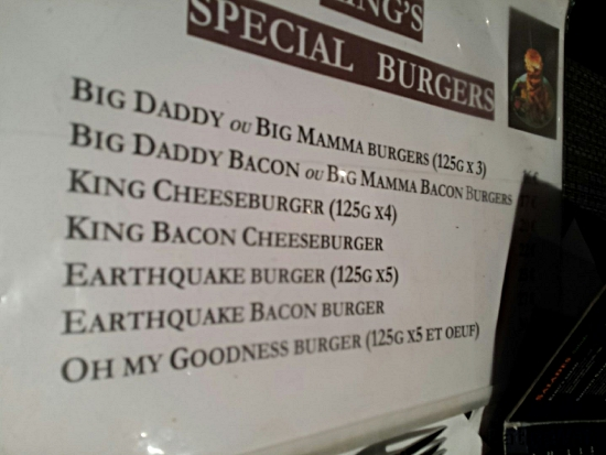 Oh my f***ing god Burger (125 x6) ?