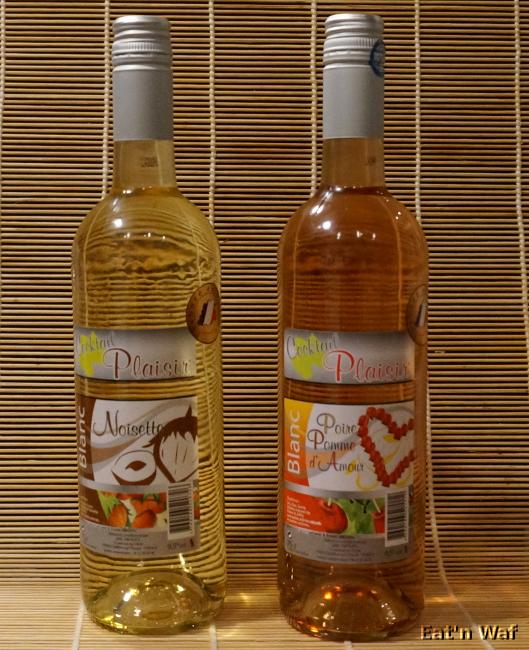 Une noisette de vin dans océan d'arômes et de sucre