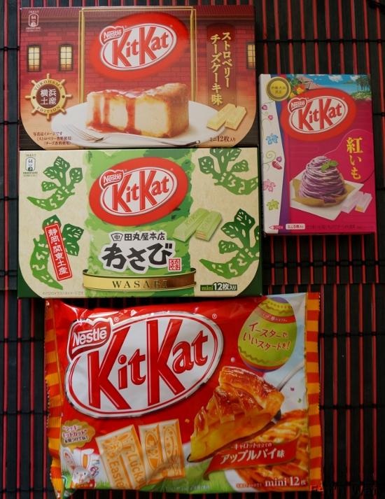 4 versions et que du chocolat blanc ...