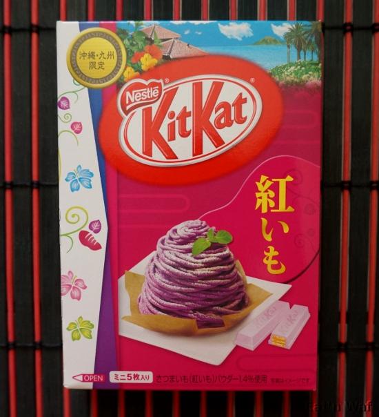 KitKat beni imo de Yokohama