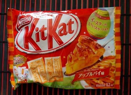 KitKat édition pâques goût tarte aux pommes