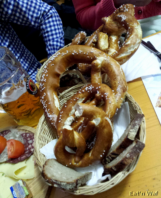 Bretzel et pain de seigle