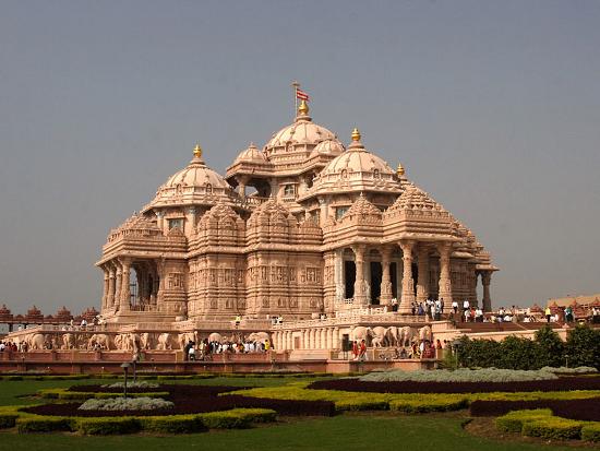 Temple d'Akshardham, New Delhi (2)