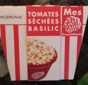Popcorn goût arnaque