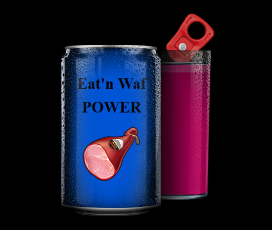 Eat'n Waf POWER, au bon goût de jambon