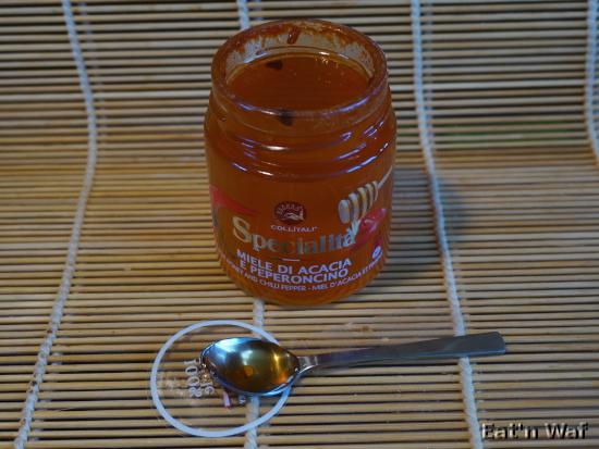 Miele di acacia e pepperoncino