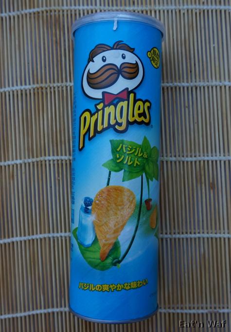 Pringles sel & basilic