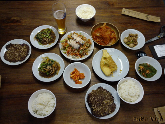 Petit repas coréen