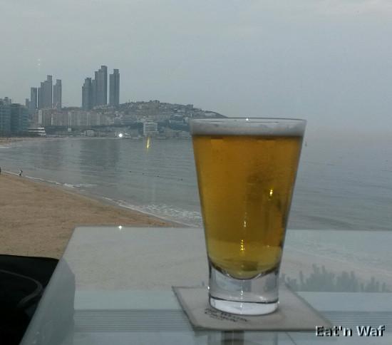 Une jolie vue mais une bière moins mémorable