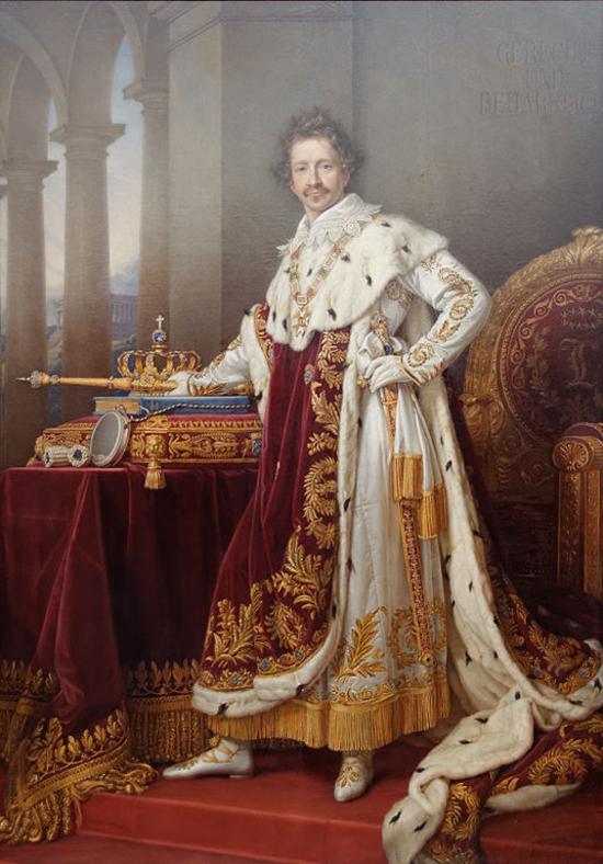 Louis Ier de Bavière par Joseph Karl Stieler (2)