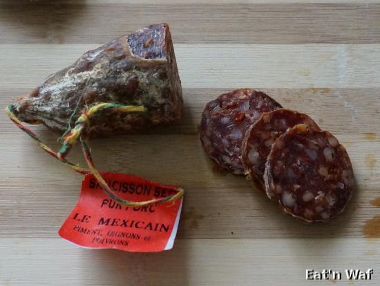 Saucisson mexicain
