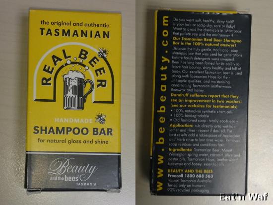 """""""Pas bon l'eau"""" comme dirait Taz, illustre habitant de Tasmanie."""