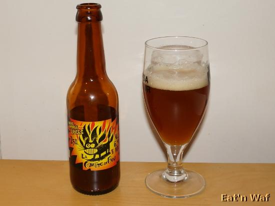 Bière pour pompier en chaleur